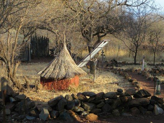 Isoitok Camp - Manyara : Entrance area