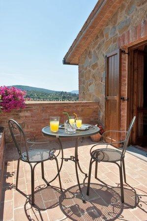 Il Borgo sul Lago : terrazzo olivo