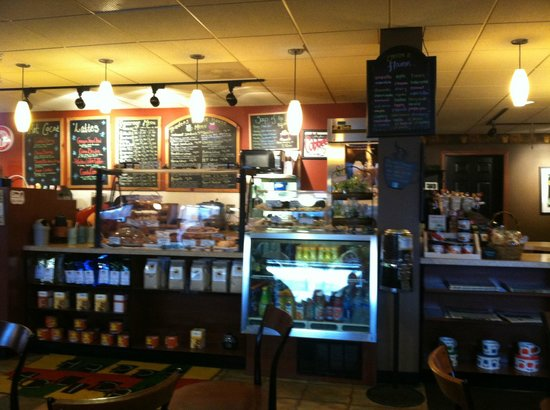 Trader's Coffee House : so many choices