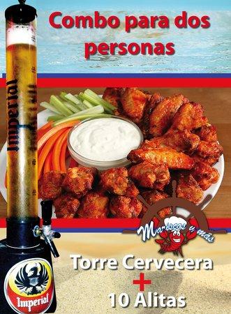 Mariscos y más: Cerveza Draft