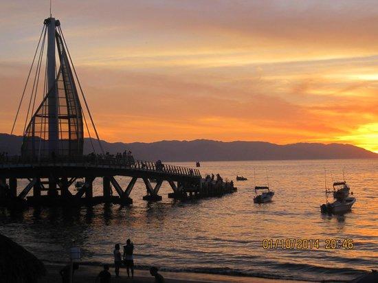 Los Arcos Suites: De mémorables couchers de soleil à la playa los muertos