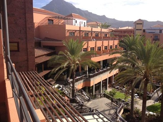 Meliá Jardines del Teide: View from balcony