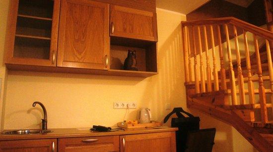 Villa Margaretha: первый этаж в полулюксе с подобием кухни