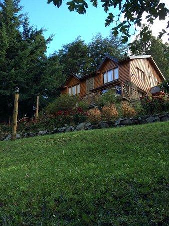 Cabanas Pinotea : our cabin!