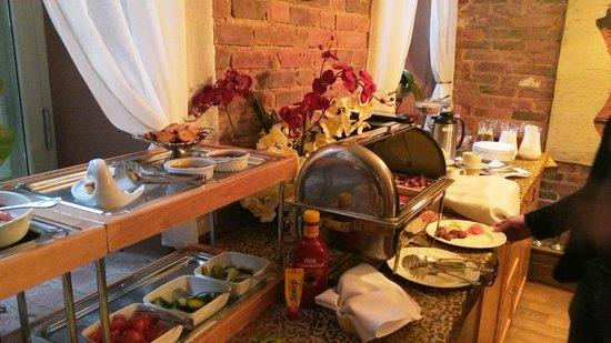 Villa Margaretha: завтрак, шведский стол только по выходным