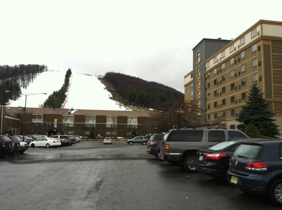 Wisp Resort Hotel and Conference Center : view of slopes and hotel