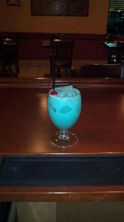 Mina's Spanish Kitchen: Blue Hawaiian