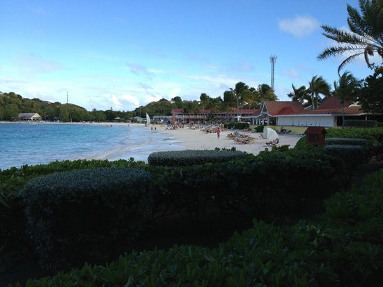 Pineapple Beach Club Antigua : View from Tropical Waterview Room #509