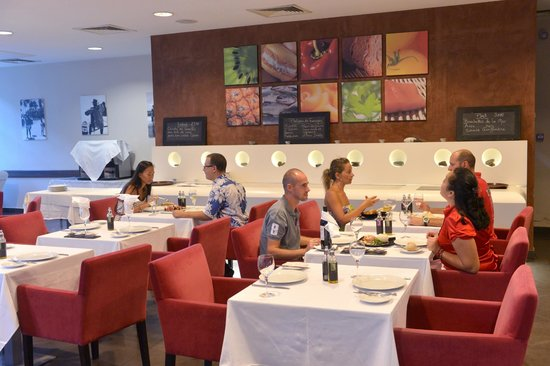 Vaitohi Restaurant : Notre salle clinatisée
