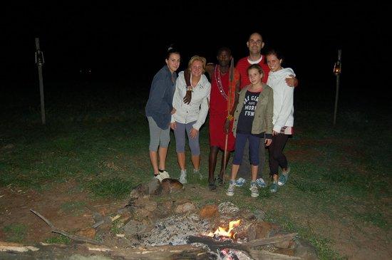Oloi Karere Mara Camp : Dopo cena attorno al fuoco