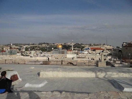 Vieille Ville de Jérusalem : Прогулка по крышам Старого города