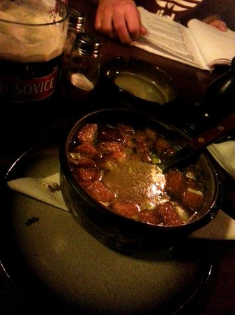 U Sedmi Svabu : чесночный суп