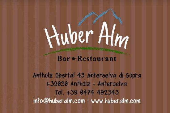 Malga Huber: Logo