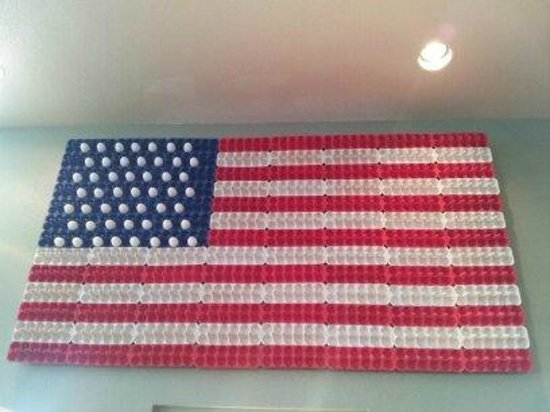 Image result for american flag with an egg