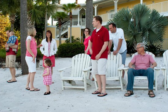 Marriott's Harbour Lake : All ready for family photo