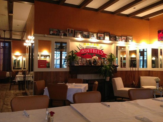 Montrel's Bistro : nicely decorated