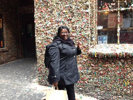 The Gum Wall: One more piece won't hurt