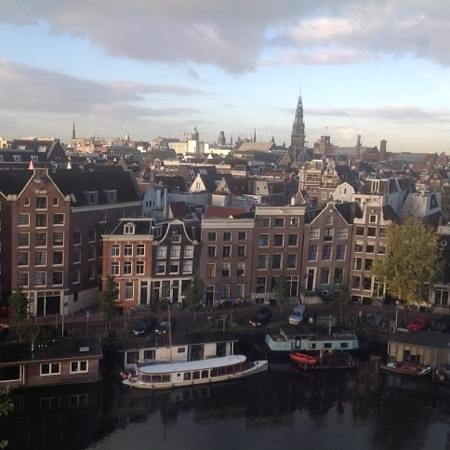 Grand Hotel Amrath Amsterdam: the city view