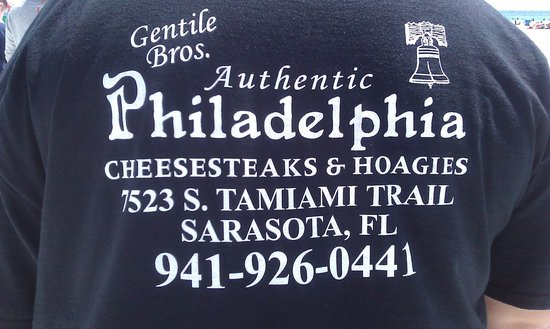 Gentile Bros Authentic Cheesesteaks : THE REAL DEAL