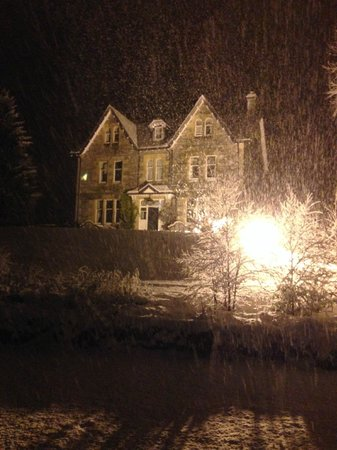 Suidhe lodge and suie bar: Suidhe in the snow