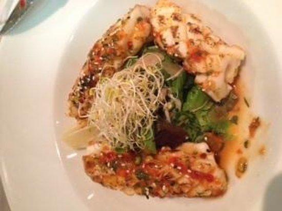 La Cabana: thai squid starter