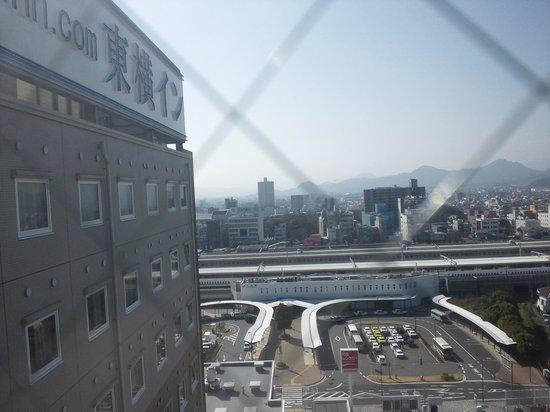 Toyoko Inn Fujisan Mishimaeki: 9F南駅側
