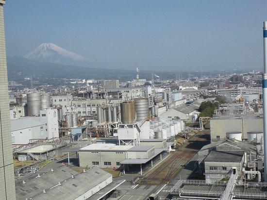 Toyoko Inn Fujisan Mishimaeki: 9F北側富士山
