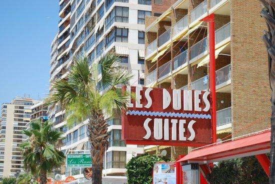 Apartamentos Les Dunes Suites: prommenade uitzicht