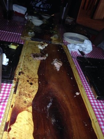 La Parrillada Tulum: meat won't last long on the platter - when placed in front of a few hungry carnivores!