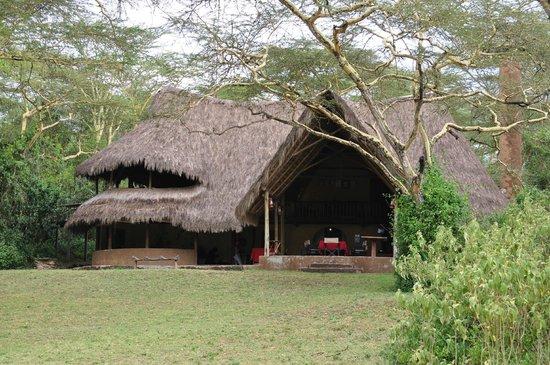 Malewa Wildlife Lodge: The main lodge
