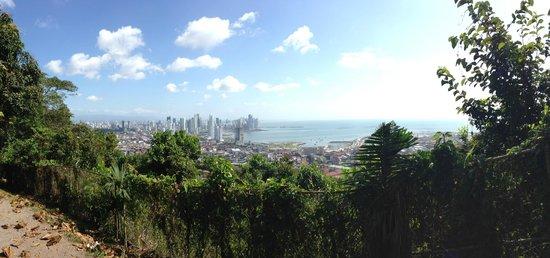 Cerro Ancón: Vista de la cima
