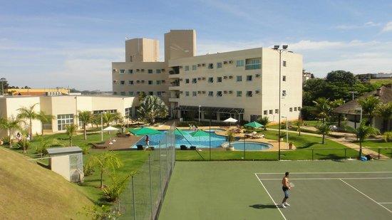 Vinhedo Plaza Hotel: Infraestutura
