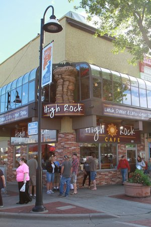 High Rock Cafe : Outside