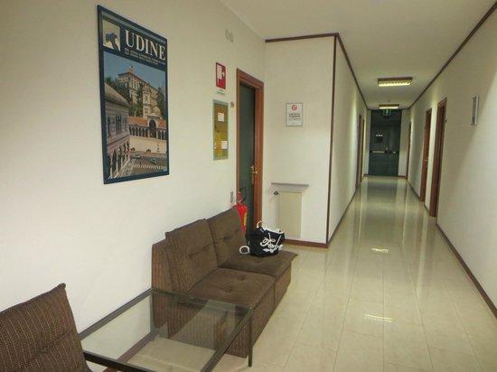 Hotel Cristallo: corridoio