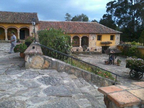 Hotel Hacienda Del Salitre: Entrada