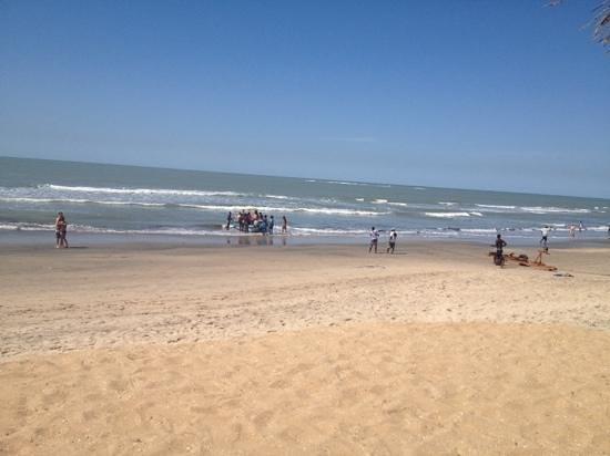 Senegambia Beach Hotel: The beach by the senegambia. BEAUTIFUL.
