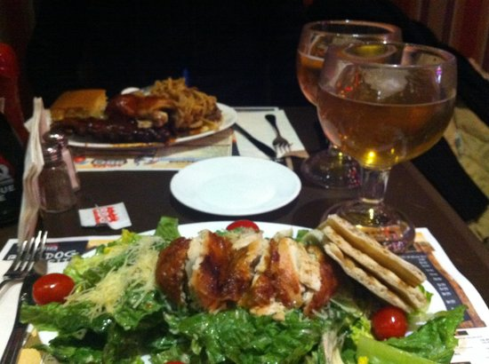 Dinner at Dallas BBQ Times Square
