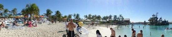 Castaway Cay : playa para la familia