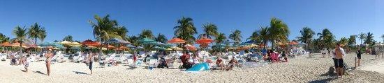 Castaway Cay : playa