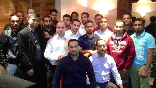 Indian summer team joining zaman of Datchet