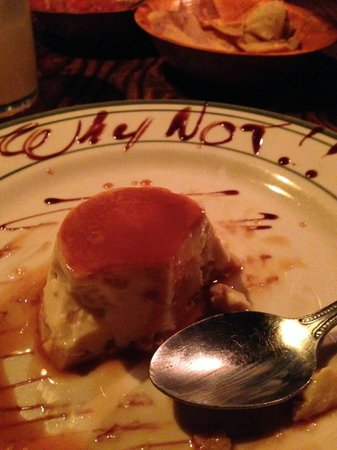 Tapanco: why not?! best flan in Rosarito