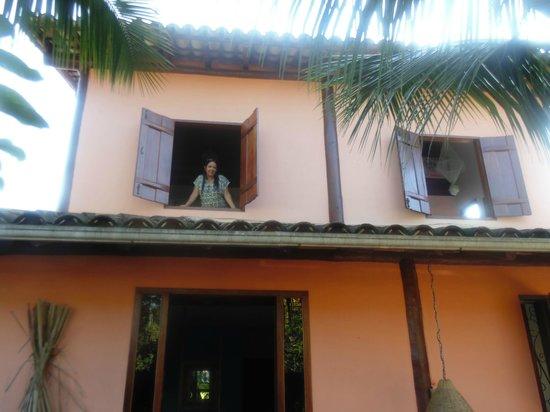 Pousada Portal das Artes: Apartamento visto do jardim