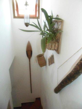 Pousada Portal das Artes: Escada