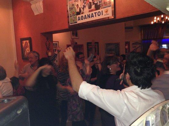 Alexandros Greek Restaurant and Deli: Opa Greek night !!