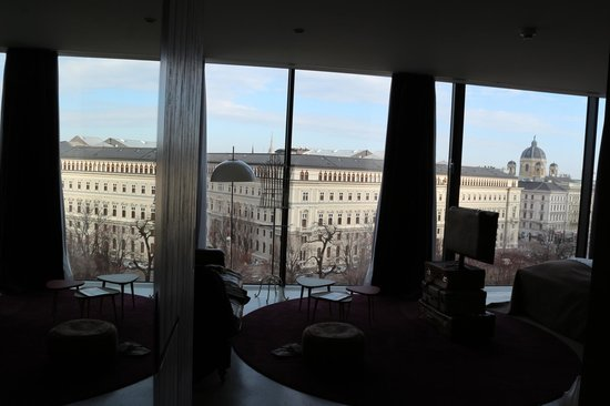 25hours Hotel at MuseumsQuartier: the view