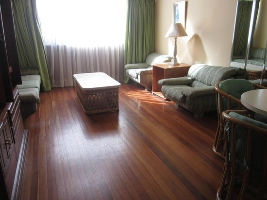Hotel Bambito Resort : View of living room