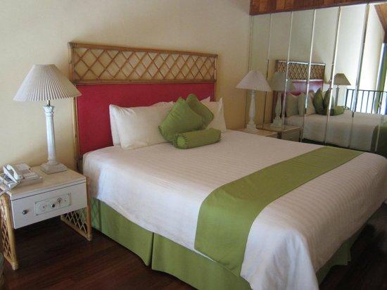 Hotel Bambito Resort : Bedroom up in the loft