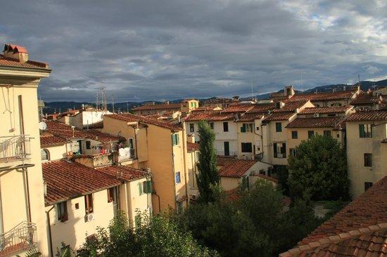 Hotel Fiorita: Флоренция из окна 3