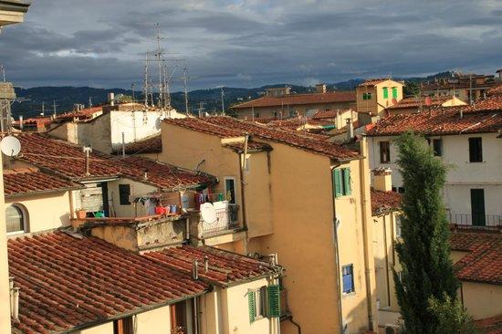 Hotel Fiorita: Флоренция из окна 1