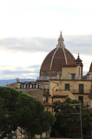 Hotel Fiorita : Флоренция из окна 5